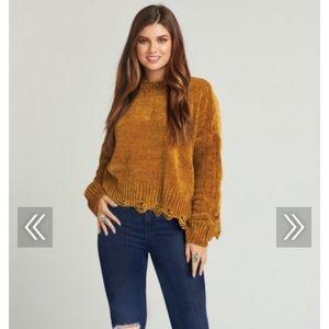 Show Me Your Mumu Fawn Sweater NWT Ochre